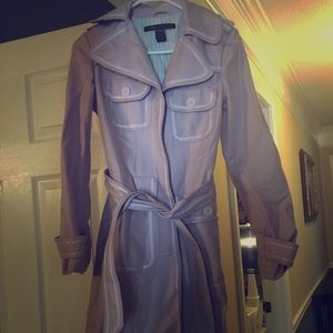 Marc Jacobs trench in lilac (worn once)